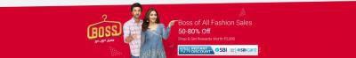 Flipkart Fashion Sale: Buy 1 get 2 Free