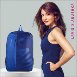 Lavie - Anushka collection BAEI139040N3 24 L Backpack NAVY - Price in India   Flipkart.com