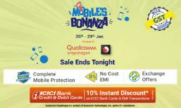 Flipkart Mobile Bonanza: Offers on Mobiles + Extra 10% Off on ICICI