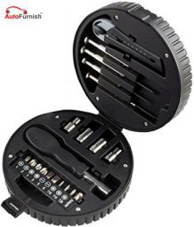 Autofurnish 20 PCs Tyre Shape Multipurpose Toolkit