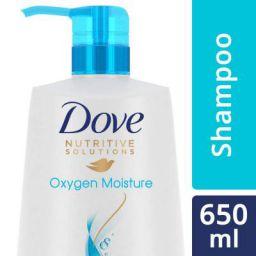 Dove Oxygen Moisture Shampoo, 650ml