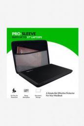 Gecko GCPS17 17 Inch Ballistic Nylon Laptop Sleeve (Black)