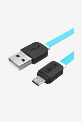 Gizga Essentials GE-MC 1M V2.4 Micro USB Cable (Aqua Blue)