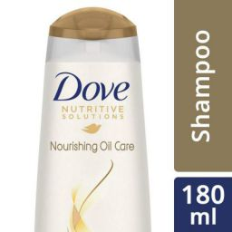 Dove Hair Therapy Nourshing Oil Care Shampoo, 180ml