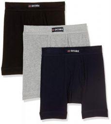 TT Men's Plain Cotton Trunks (Pack of 3)