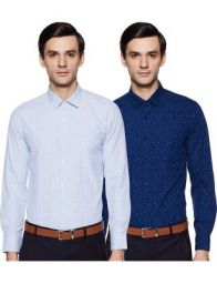 Men's Formal Shirts (Pack of 2)