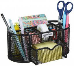 AmazonBasics Mesh Desk Organizer