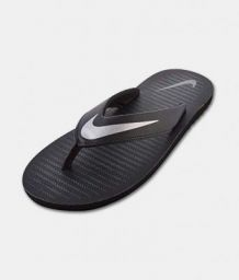 Nike 1 Black Thong Flip Flop