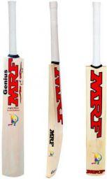 MRF Virat Kohli world cup education Poplar Willow Cricket Bat  (700-1000 kg)