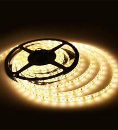 Yellow LED Festive Light by Riflection