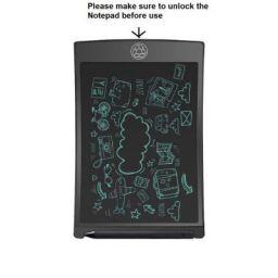 Chocozone Portable Re-Writable LCD E-Pad for Drawing/Playing/Handwriting, 8.5-inch (Black)