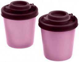 Signoraware Nano Medium Spice Shaker Set, Set of 2, Maroon