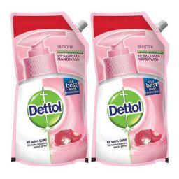 Dettol Skincare Liquid Soap Refill - 750 ml (Pack of 2)