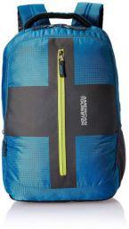 American Tourister Polyester 32 Ltrs Teal Laptop Backpack (AMT Juke Laptop BKPK 01 - Teal)