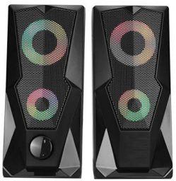 Live Tech SP12 Gaming LED 2.0 Stereo Speaker