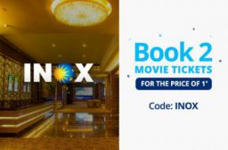 INOX: Book 2 Movie tickets at Price of 1