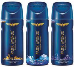 Park Avenu Cool Blue & Storm Deodorant Spray  -  For Men