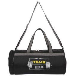 FUR JADEN 23l Waterproof Duffle Gym Bag for Men with Separated Shoe Pocket and Attached Shoulder Strap Polypropylene 50