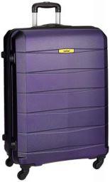 Safari Regloss Antiscratch 76 Cms Polycarbonate Purple Check-In 4 wheels Hard Suitcase