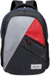 Chris & Kate Multicolor Big Comfortable Backpack(30 litres)