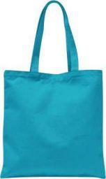 Sky Blue Color Tote Bag - reusable 100% Cotton Eco-Friendly  Bag  Canvas Fabric Multipurpose Bag Blue Tote