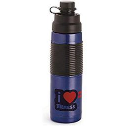Buy Cello Grip Sip Stainless Steel Bottle, 500ml, Blue Online at Low Prices in India - Amazon.in