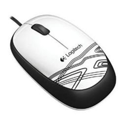 Logitech M105 Mouse (White)