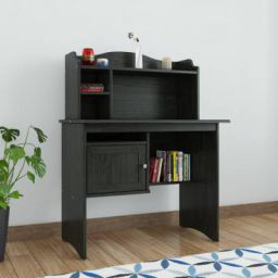 RoyalOak Disney Engineered Wood Study Table  (Free Standing, Finish Color - Wengy)