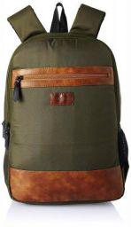 CAMELIO 30 Ltrs Olive Laptop Backpack (CAM-MBG-009)