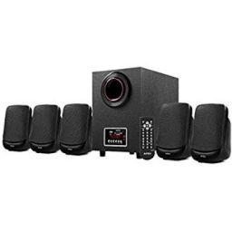 Intex IT- 5100SUF-OS 5.1 Channel Multimedia Speakers (Black)