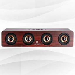 Live Tech Jalsa Wireless Wooden Speaker with Powerful Sound
