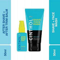 Cinthol Cool Wave Shaving Combo, 150ml
