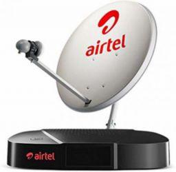 Airtel Digital TV SD Set top Box 1 month FTA Pack SD