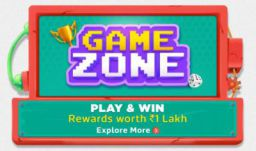 Flipkart Gamezone : Play & Win Reward worth 1Lakh