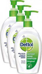 Dettol Original Instant Hand Sanitizer  (600 ml, Pump Dispenser, Pack of 3)