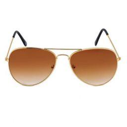 Ivy Vacker Regular lens Aviator Sunglasses for Men