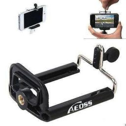 Aeoss Camera Stand Clip Bracket Holder Monopod Mount Adapter for Mobile Phone