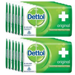 Dettol Original Soap - 75 g (Pack of 12)