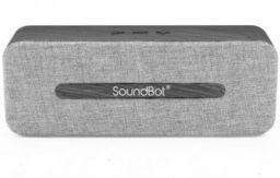 SoundBot SB574 10 Bluetooth Speaker  (Grey, Stereo Channel)