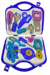 Amitasha Mechanix Suitcase Tool Kit Toys Set for Kids (Multicolour) - (12 Tools)