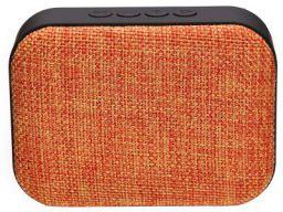 Live Tech Portable Yoga Bluetooth Wireless Speaker with Micro SD/AUX/Mic (Orange)