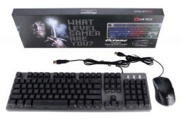 Live Tech Octane Gaming RGB Keyboard Mouse Combo + Gamers Choice + True Backlit LED + Plug & Play