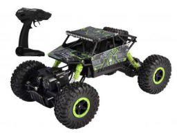 Popsugar Rock Crawler 1: 18 2.4GHz Remote Control Car 4WD Off Road RC Monster Truck Green