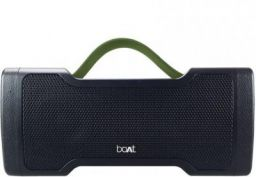 boAt Stone 1000 14 W Portable Bluetooth Speaker  (Black, Stereo Channel)