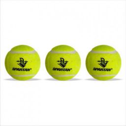 Spartan Cricket tennis ball LIGHT- Set of three Cricket Tennis Ball