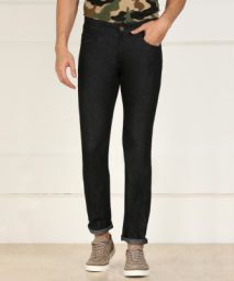 Billion Flexi Slim Men Black Jeans