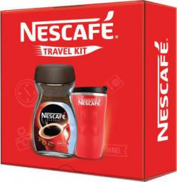 Nescafe Red Travel Kit Instant Coffee  (200 g)