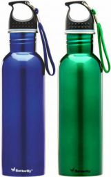 Butterfly Eco SS 1500 ml Bottle  (Pack of 2, Multicolor)