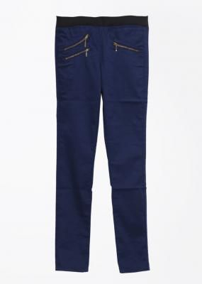 Lee Skinny Fit Women Dark Blue Trousers -
