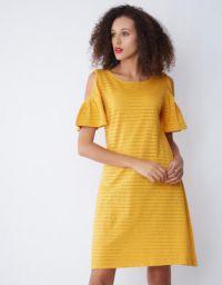 Provogue Women Sheath Orange Dress